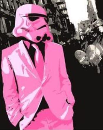 Pink Stormtrooper 11
