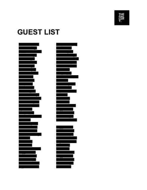 'Guest List'